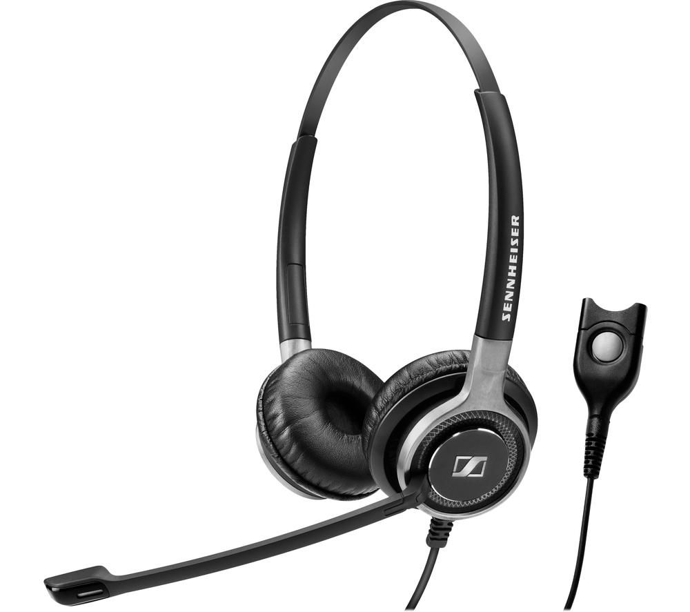 Image of SENNHEISER Century SC 660 Headset - Black & Silver, Black
