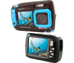 Active W1400 Compact Camera - Blue