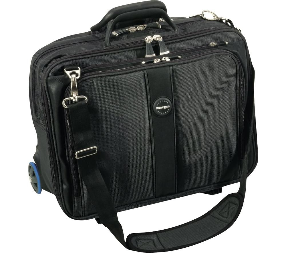 "KENSINGTON Contour Roller 17"" Laptop Case - Black"