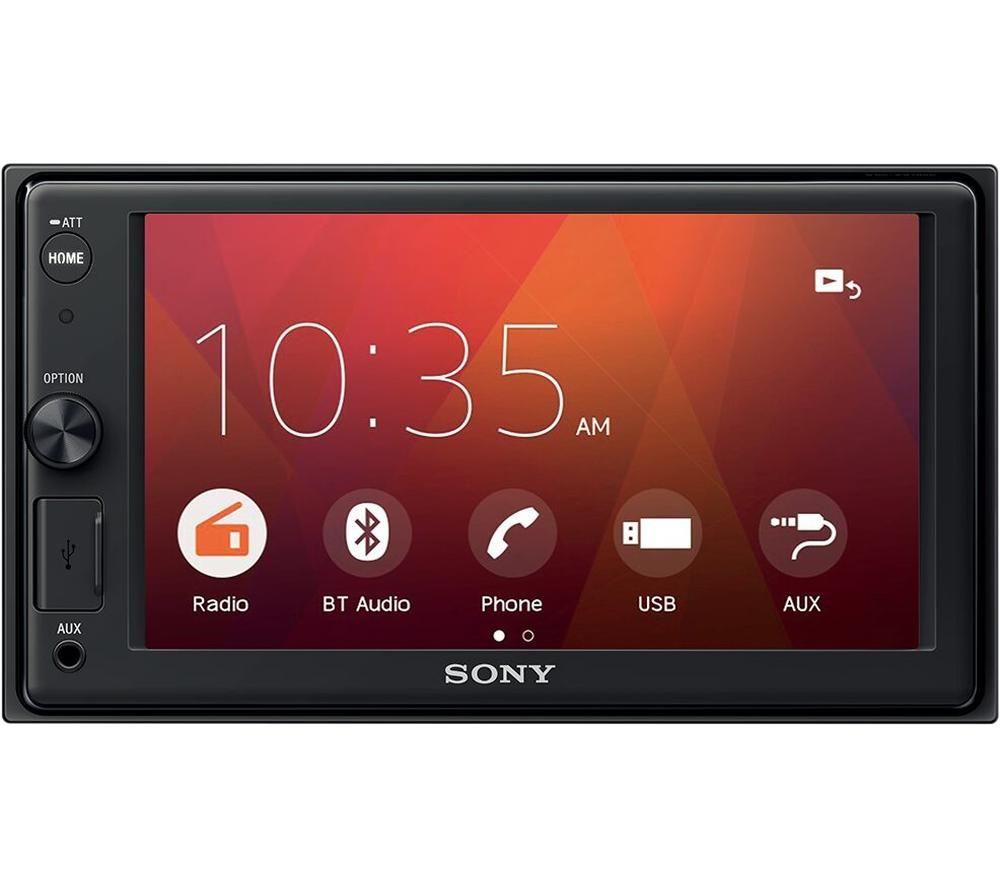 SONY XAV-1500 Smart Bluetooth Car Radio - Black, Black