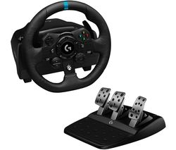 G923 Racing Wheel & Pedals - Xbox One & PC, Black