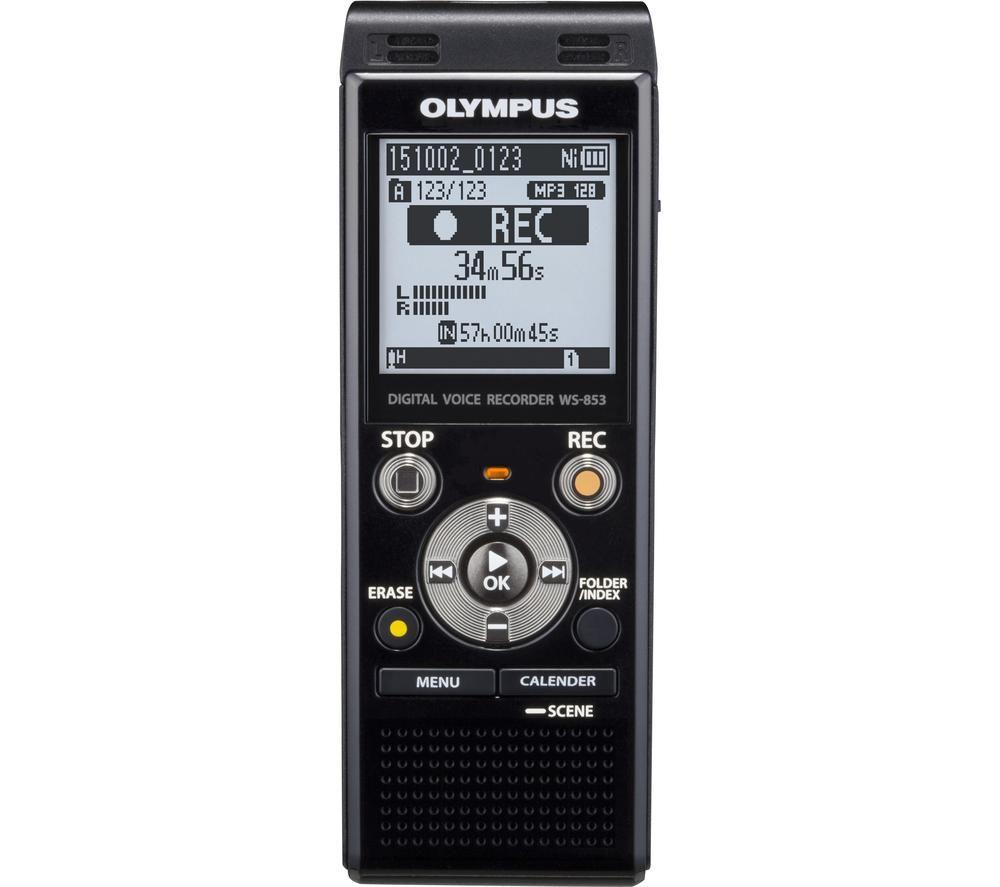 OLYMPUS V415131BE000 Digital Voice Recorder