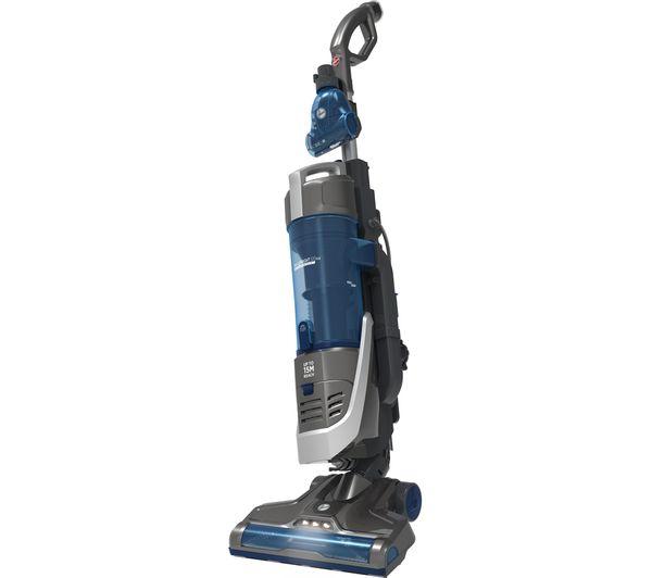 HOOVER H-Upright 500 HU500SGP Sensor Plus Pets Upright Bagless Vacuum Cleaner - Blue & Grey