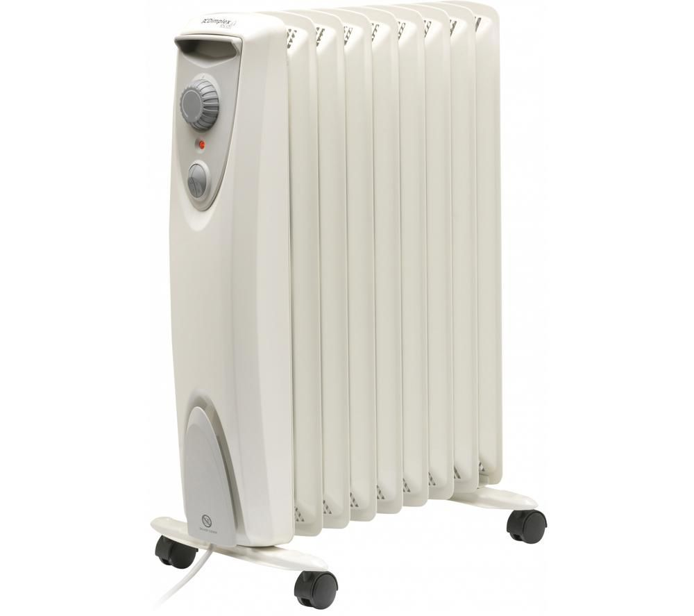 Image of DIMPLEX OFRC20N Portable Oil-Free Radiator - White & Grey, White