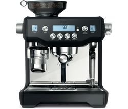 The Oracle BES980BTR Coffee Machine - Black Truffle