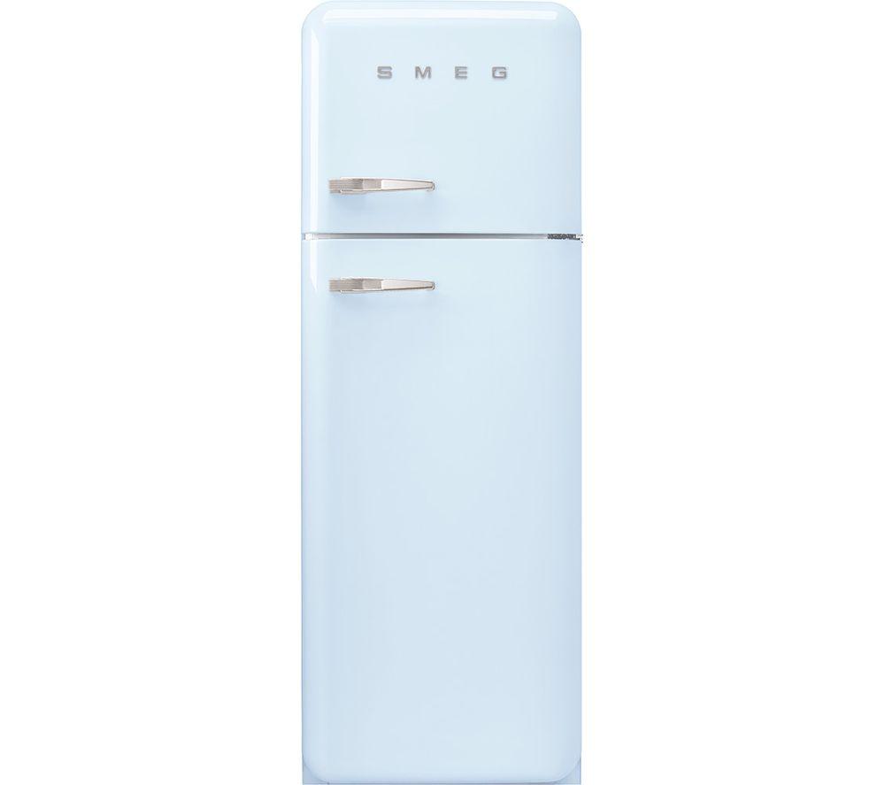 SMEG FAB30RPB5UK 80/20 Fridge Freezer – Pastel Blue, Blue