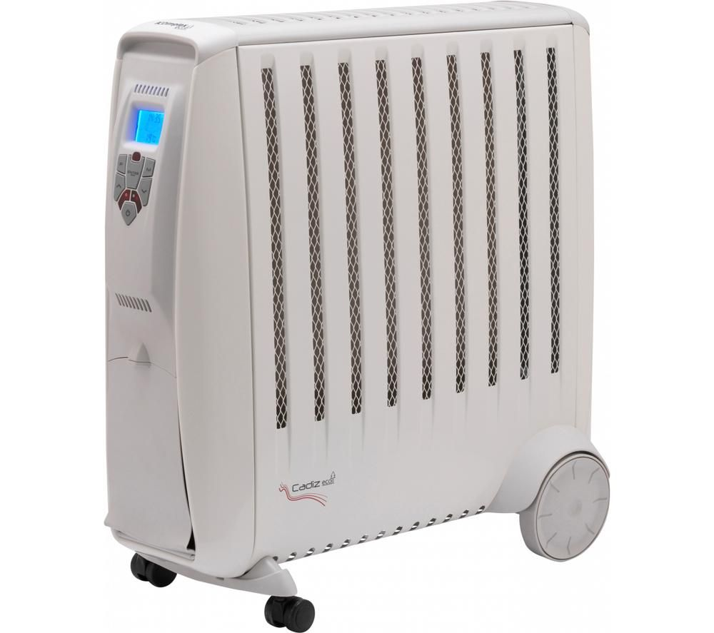 Image of DIMPLEX CDE2ECC Cadiz Eco Portable Oil-Free Radiator - White & Grey, White