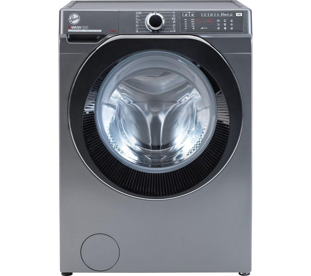 HOOVER H-Wash 500 HWB 49AMBCR WiFi-enabled 9 kg 1400 Spin Washing Machine - Graphite, Graphite