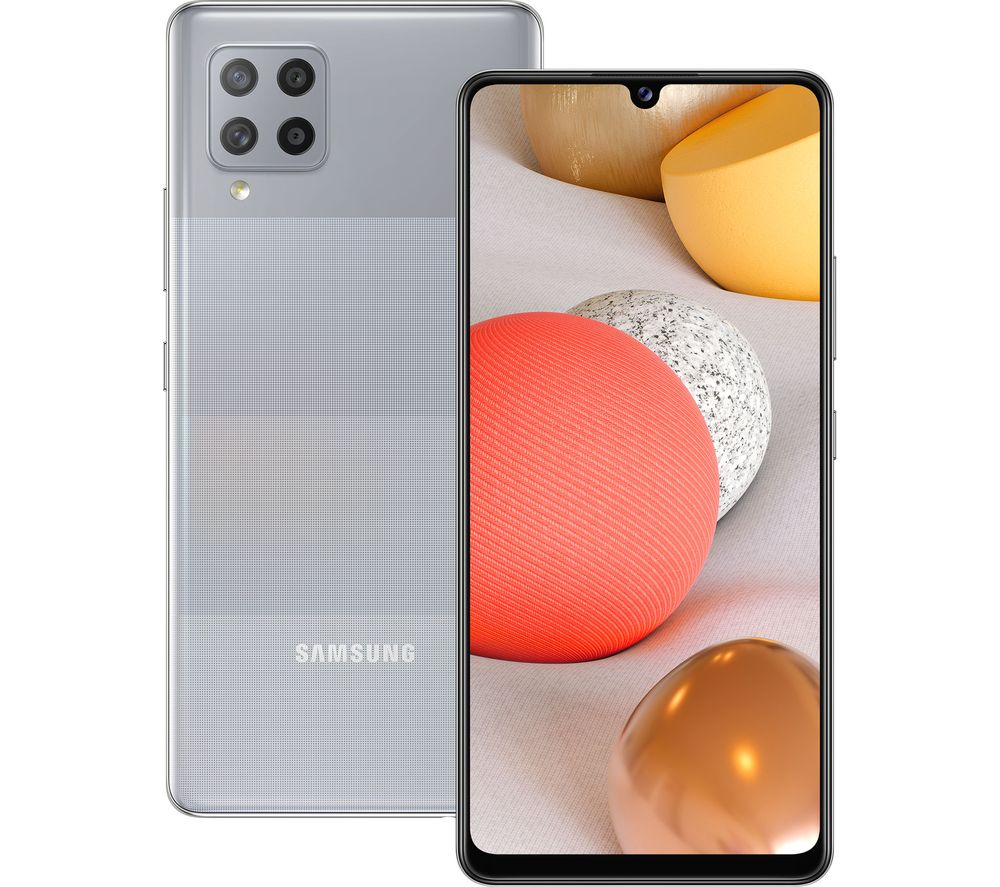 SAMSUNG Galaxy A42 5G - 128 GB, Prism Dot Grey