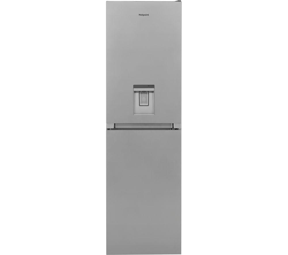 Bosch KGN33NLEAG Serie 2 Frost Free Freestanding Fridge Freezer With Easy-access Freezer Shelf - Stainless Steel Look