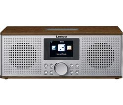 DIR-170 DAB+/FM Smart Bluetooth Radio - Grey & Wood