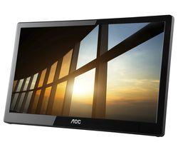 "I1659FWUX Full HD 16"" LED Portable Monitor - Black"
