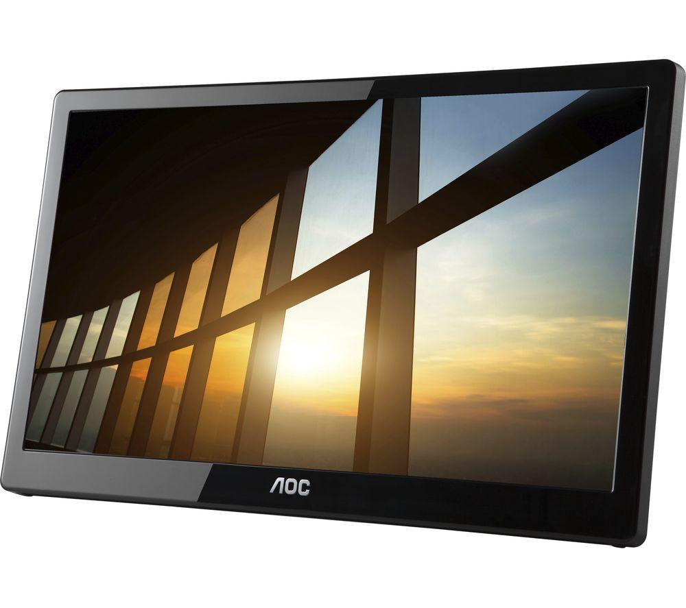 AOC I1659FWUX Full HD 16inch LED Portable Monitor - Black