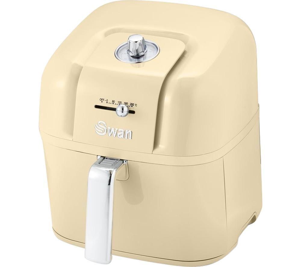 SWAN Retro SD10510CN Air Fryer - Cream, Cream