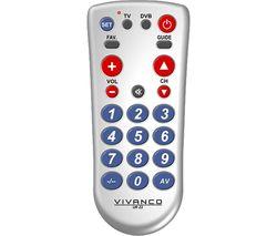 UR Z2 Universal Remote Control - Silver