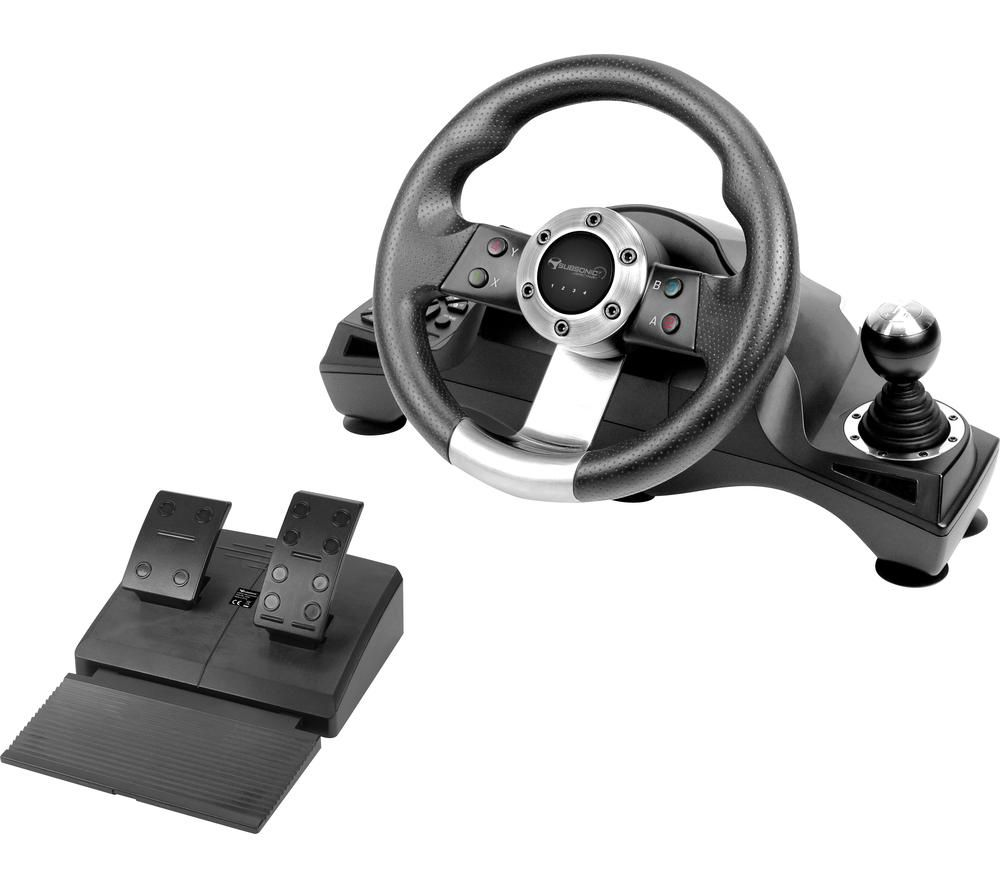 SUBSONIC SA5156 GS700 Drive Pro Sport Racing Wheel & Pedals