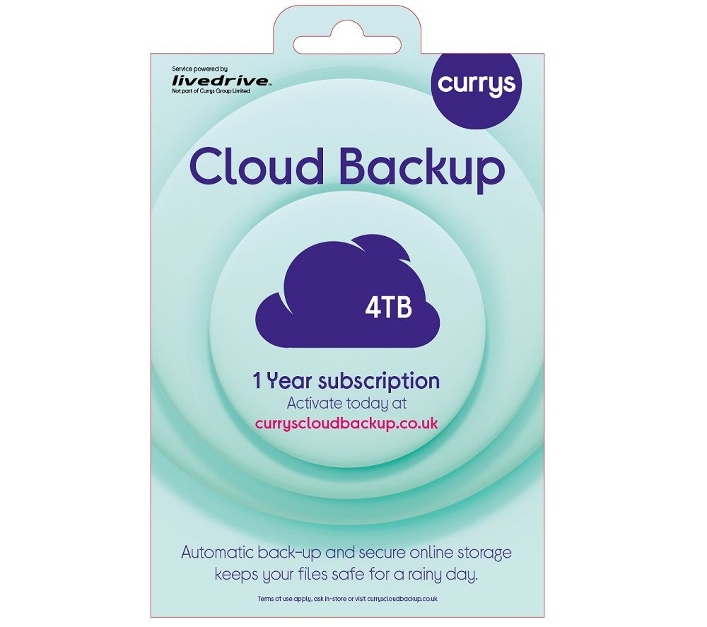 KNOWHOW Cloud Backup - 4 TB, 1 year