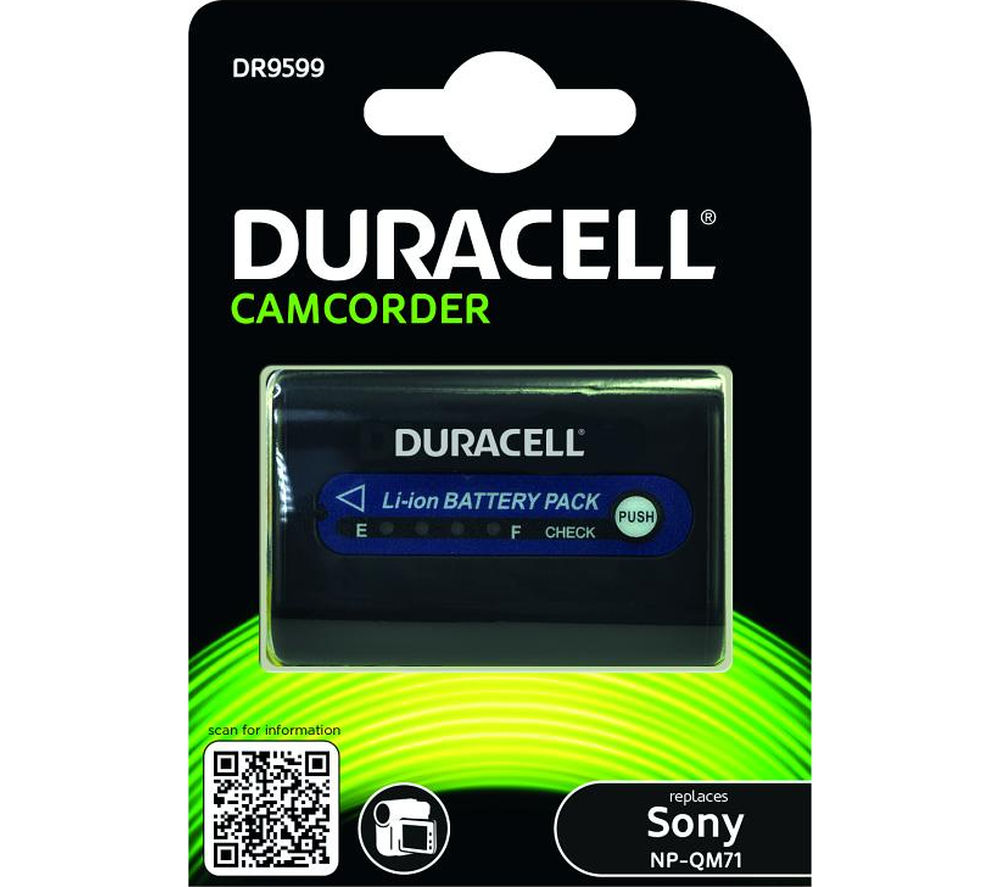 DURACELL DR9599 Lithium-ion Rechargeable Camcorder Battery