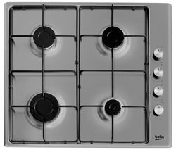 HIZG64120SX Gas Hob - Stainless Steel