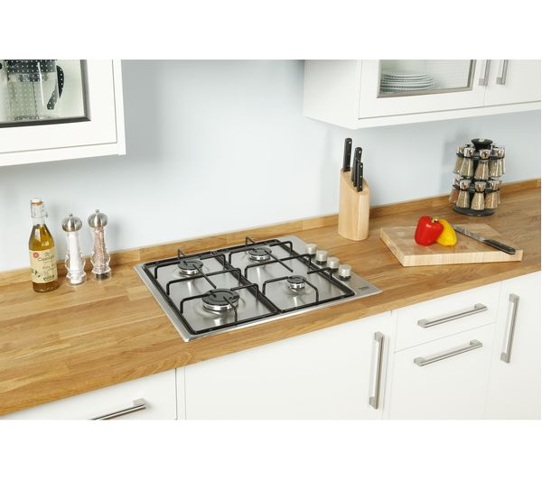 Kitchen Island Designs With Hob: Buy BEKO HIZG64120SX Gas Hob - Stainless Steel