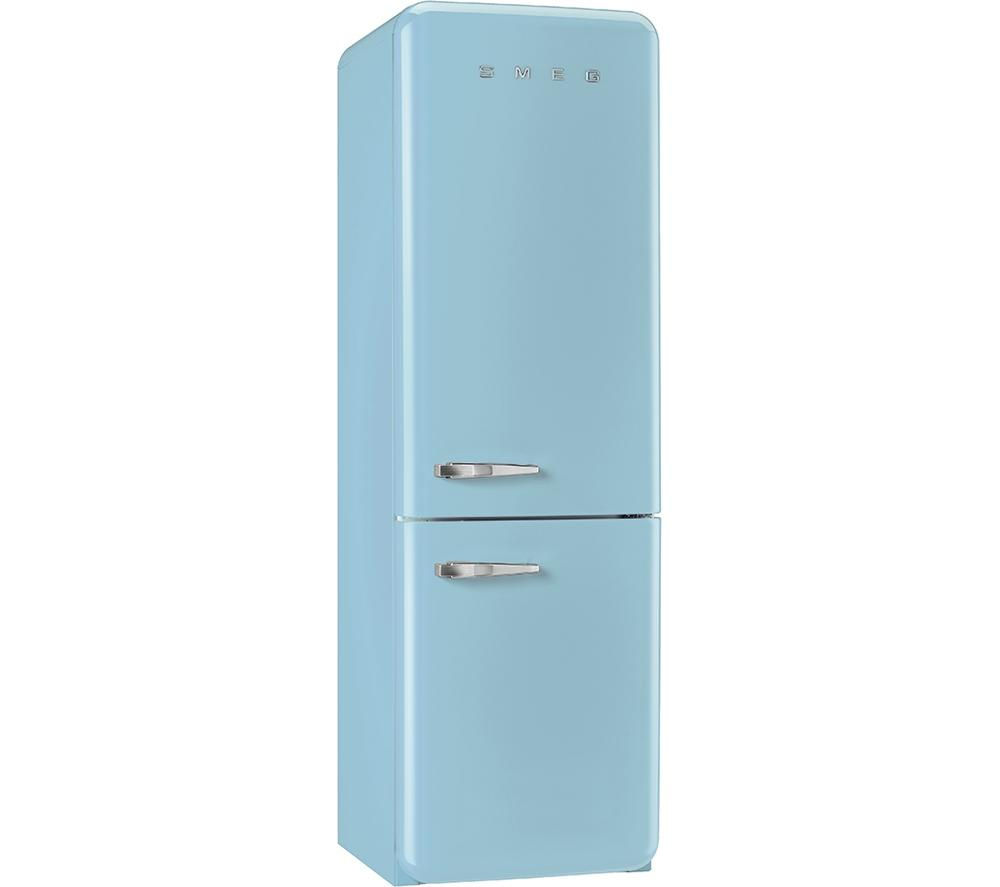 buy smeg fab32rna fridge freezer pastel blue free delivery currys. Black Bedroom Furniture Sets. Home Design Ideas