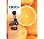 EPSON No. 33 Oranges XL Black Ink Cartridge