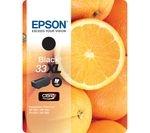 EPSON No. 33 Oranges XL Black Ink Cartridge