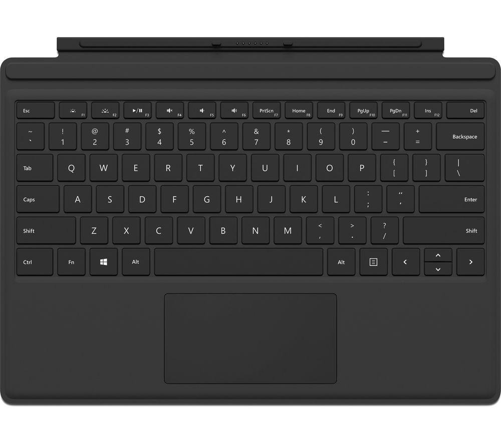 MICROSOFT Surface Pro Typecover - Black