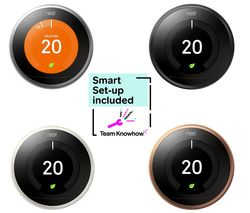 KNOWHOW Nest Learning Thermostat and Installation - 3rd Generation