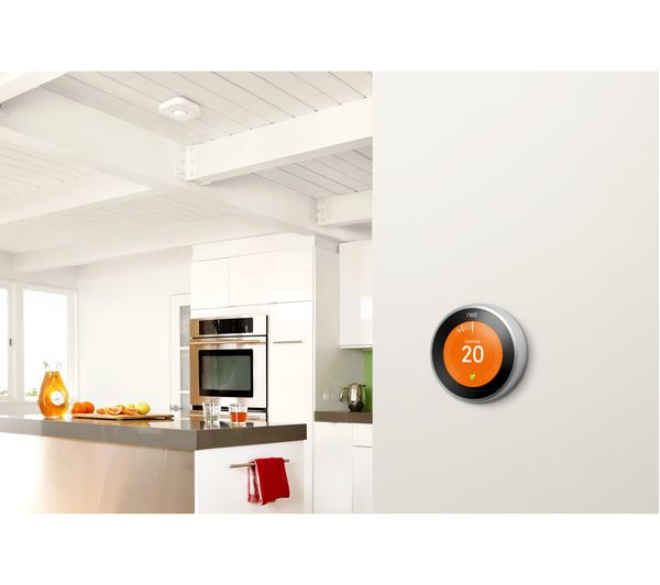 knowhow nest learning thermostat and installation 3rd generation deals pc world. Black Bedroom Furniture Sets. Home Design Ideas