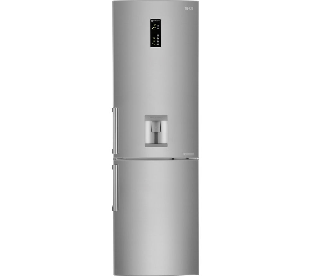 LG GBF59NSKZB 67/33 Fridge Freezer - Stainless Steel