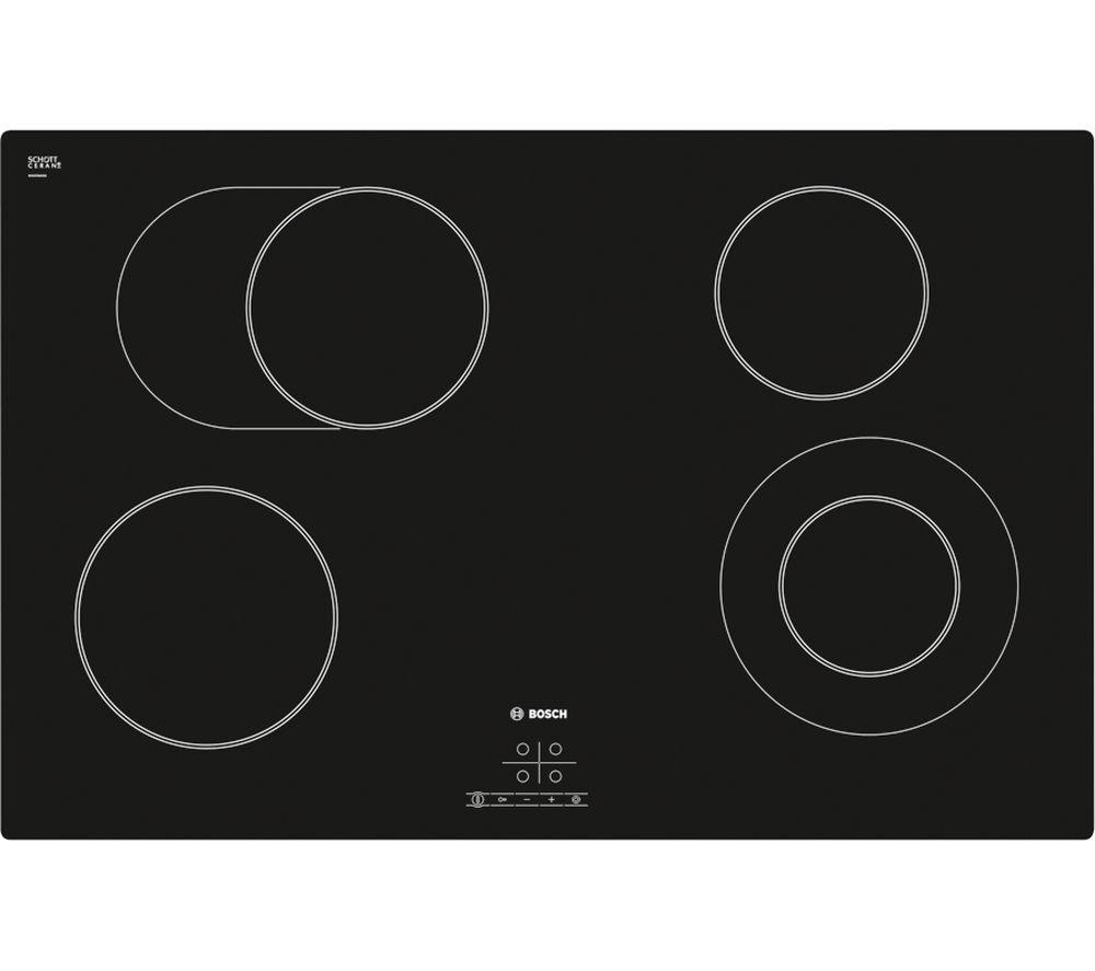 BOSCH Serie 4 Classixx PKN811D17E Ceramic Hob - Black