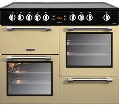 LEISURE Cookmaster CK100C210C Electric Ceramic Range Cooker - Cream & Chrome