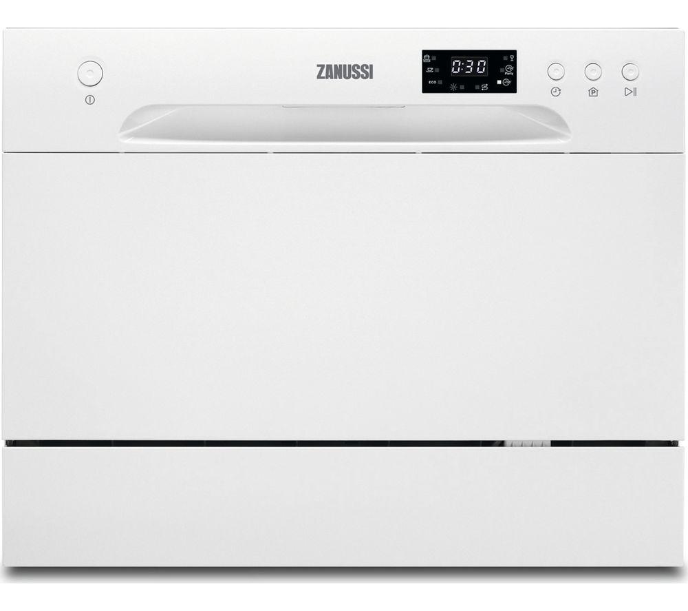 ZANUSSI ZDM17301WA Compact Dishwasher - White