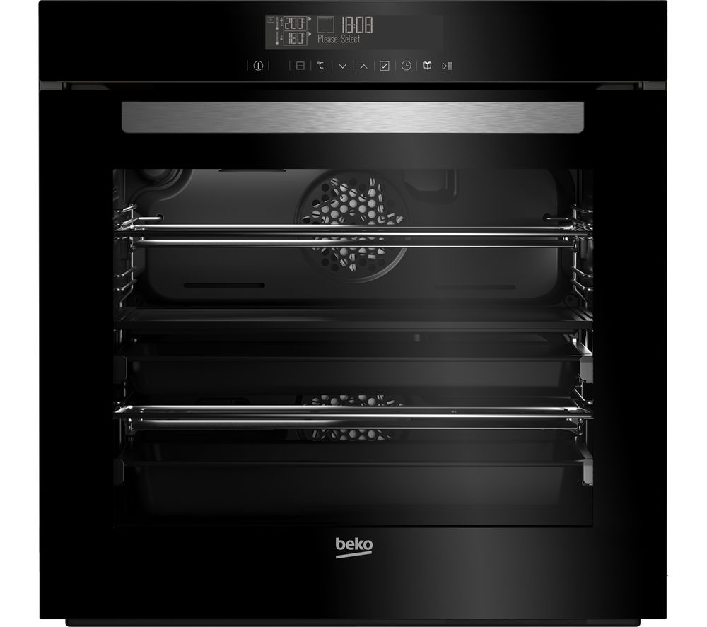 Image of BEKO BVM34500BM Electric Oven - Black, Black