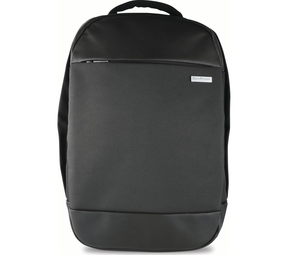 "SANDSTROM S16PBP17 15.6"" Laptop Backpack - Black"