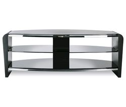 ALPHASON Francium 1100 TV Stand - Black