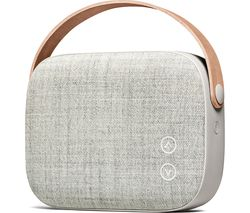 VIFA Helsinki Portable Wireless Speaker - Sandstone Grey