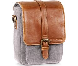Heritage Binocular Shoulder Case - Grey & Tan