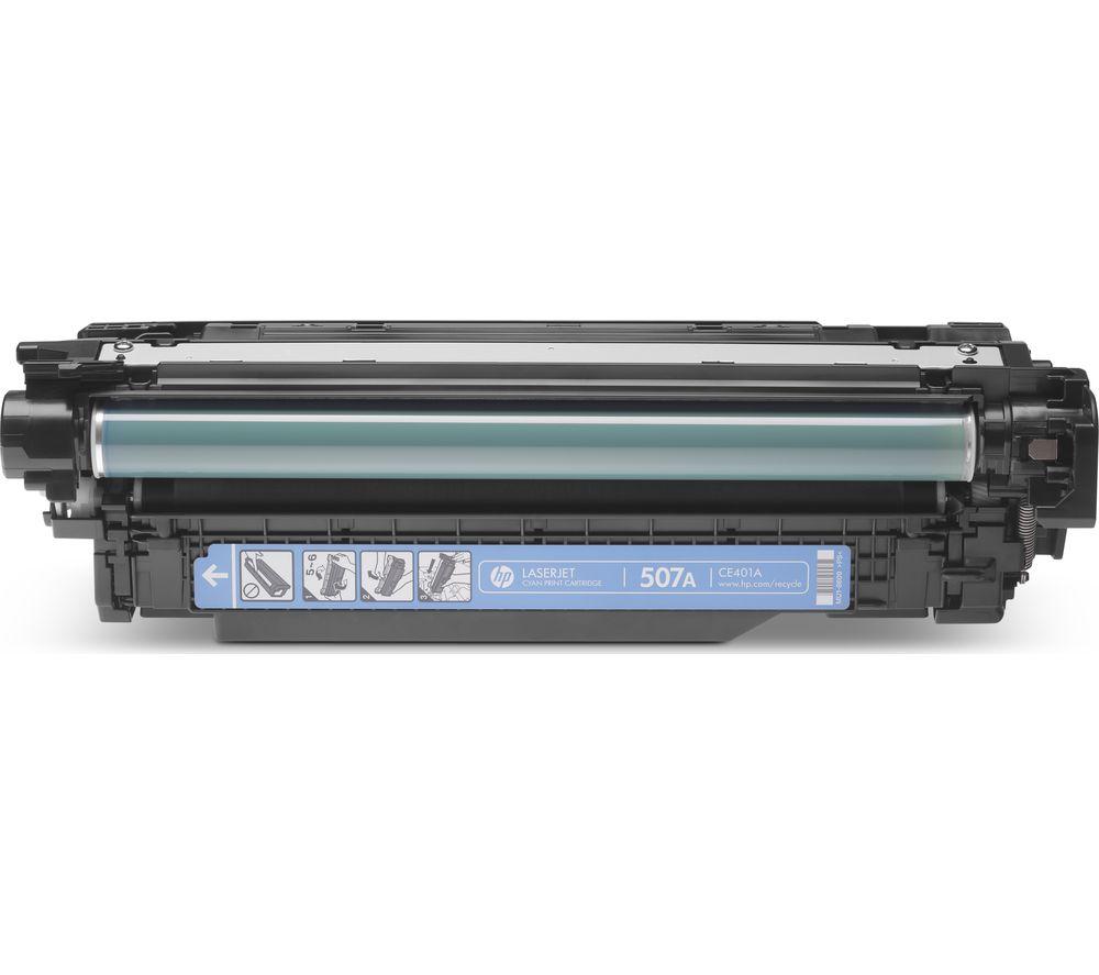HP 507A Cyan Toner Cartridge