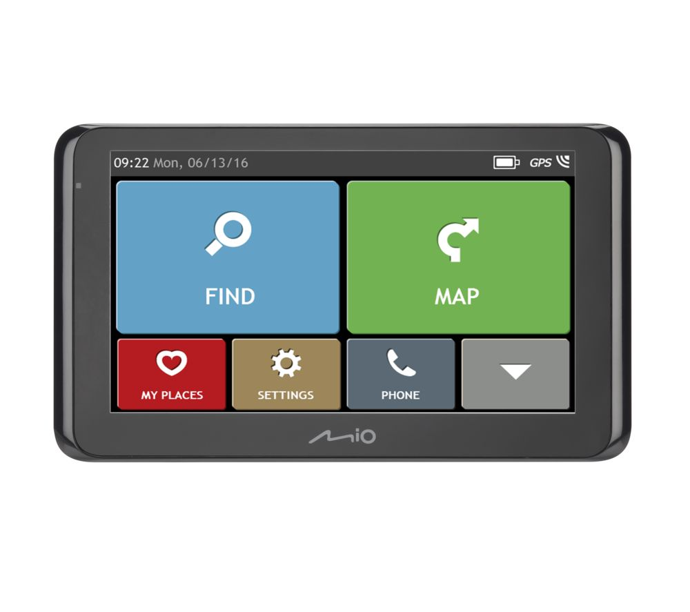 Compare prices for Mio Spirit 8670 LM EU 6.2 Inch Sat Nav Full Europe Maps