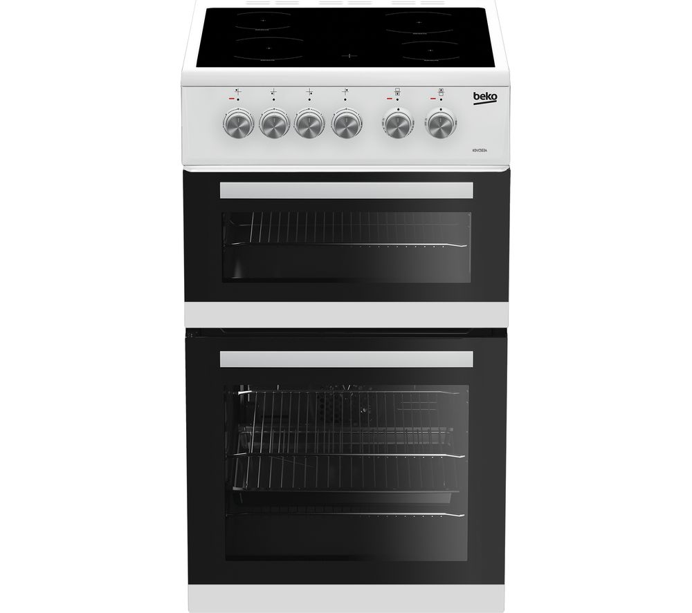 BEKO KDVC563AW 50 cm Electric Ceramic Cooker – White, White