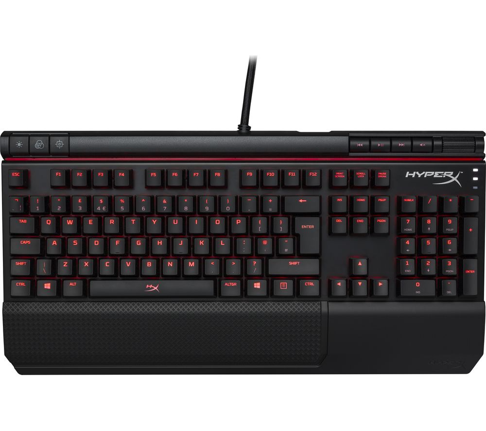 Cheapest price of Hyperx Alloy Elite Mechanical Gaming Keyboard in new is £95.99