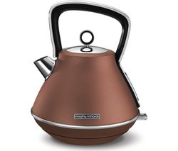 MORPHY RICHARDS Evoke Premium Traditional Kettle - Bronze