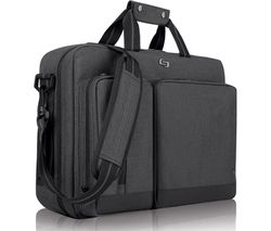 "SOLO Duane Hybrid 15.6"" Laptop Bag - Grey"