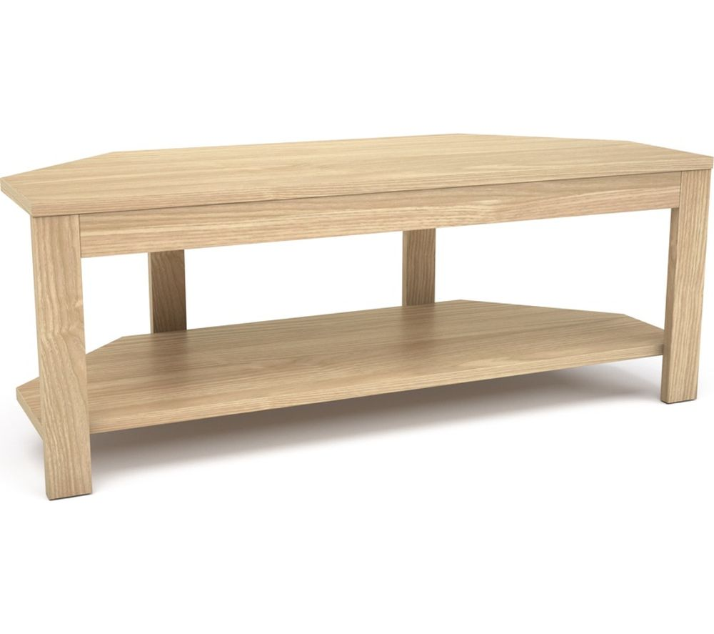 LOGIK L105MDF18 1050 mm TV Stand - Wood
