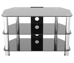 AVF SDC800CM TV Stand - Black & Chrome