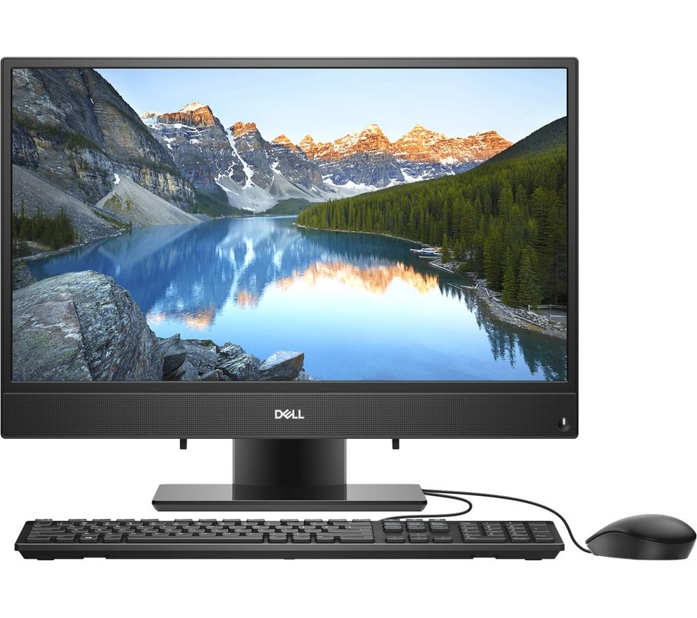 """DELL Inspiron 22 3000 21.5"""" AMD A6 All-In-One PC - 1 TB HDD, Black"""