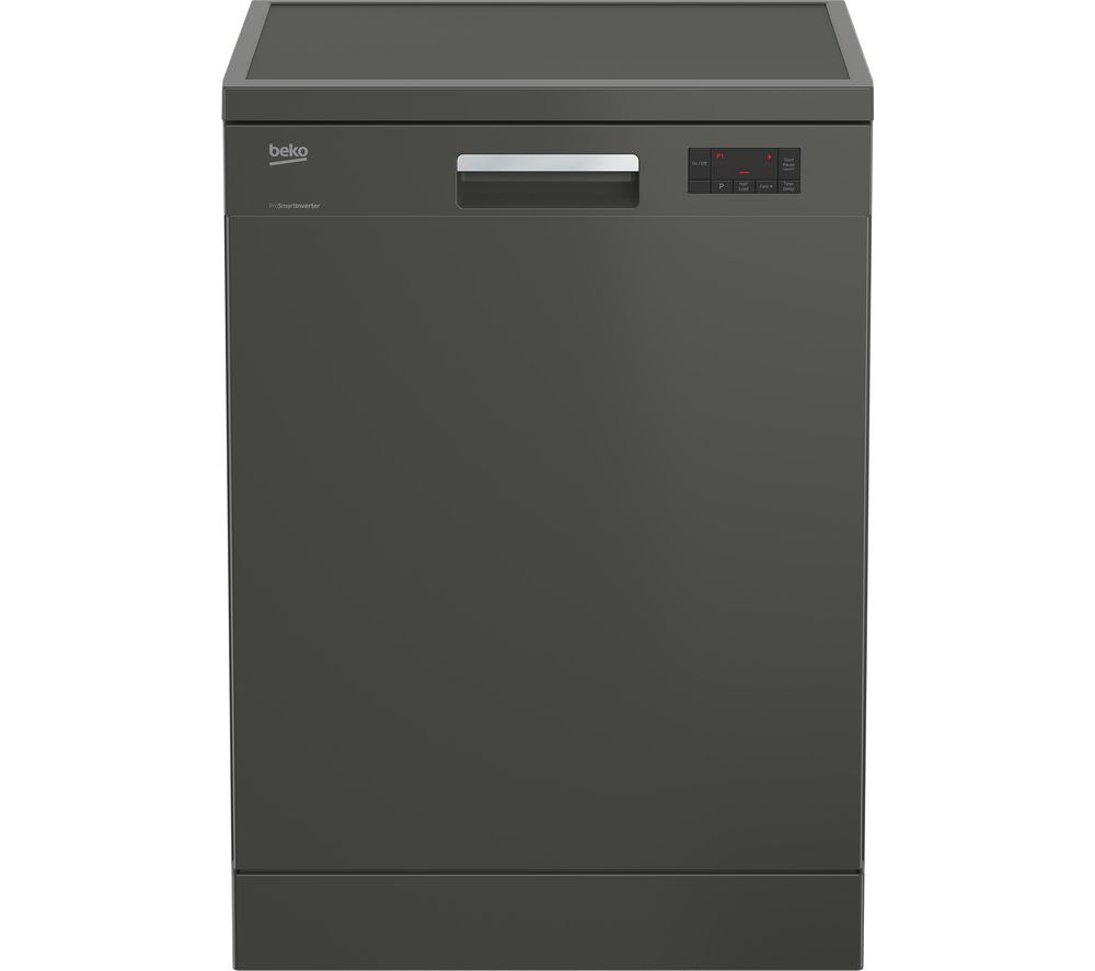 BEKO DFN16420G Full-size Dishwasher - Graphite