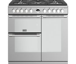 Sterling S900DF 90 cm Dual Fuel Range Cooker - Stainless Steel